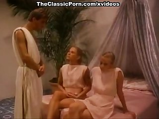 Lysa Thatcher, Tigr, Jon Martin in hot orgy scene from the golden age of porn