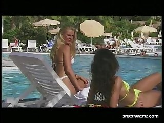 Nikky Andersson and Maria de Sanchez in a Lesbian Action