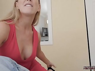 Classic blonde milf and cum compilation Cherie Deville caught her