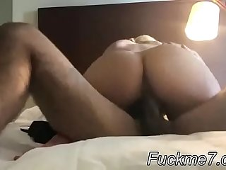 Indian girlfriend loves choking on BBC