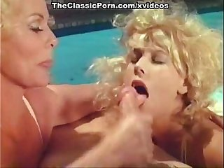 Kristara Barrington, Honey Wilder, Herschel Savage in vintage fuck clip