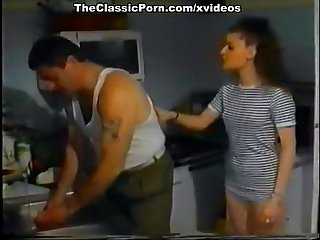 Melodie Kiss, Centrine, Cheryl  in vintage porn movie